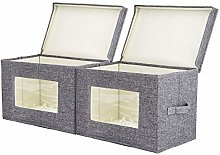 Corodo 2 Pack Foldable Storage Boxes with