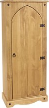 Corona Storage Cupboard Solid Pine 1door Wooden