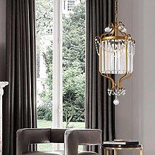 Corridor Crystal Ceiling Hanging Light Modern