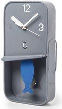 Cositas - Metal Sardine Tin Pendulum Wall Clock -