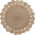 COSM Natural round jute rug 150 AA1104FN46 LaForma