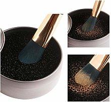 Cosmetic Brush Cleaner Sponge Washer Brush Color