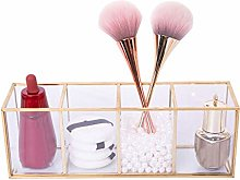 Cosmetic Display Stand Box Dresser Glass Makeup