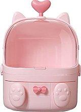 Cosmetic Storage Box Dustproof and Waterproof Girl