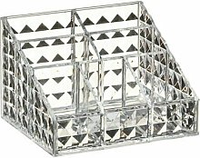 Cosmetic Vanity Organiser 7 Section Storage Solution - Faceted