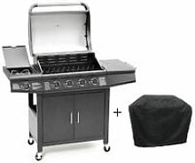 CosmoGrill 4+1 Pro Gas BBQ Barbecue Grill Inc.