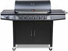 CosmoGrill 6+1 Pro Gas Burner Grill Barbecue Incl.