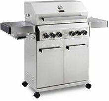 CosmoGrill Barbecue 4+2 Platinum Stainless Steel