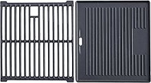 CosmoGrill Cast Iron Griddle Grate/ Grill Grate