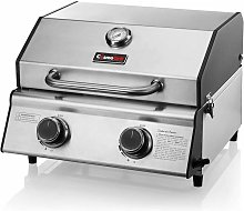 CosmoGrill Compact Gas Stainless Steel 2 Burner