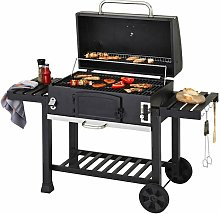 CosmoGrill Outdoor XXL Smoker Charcoal BBQ
