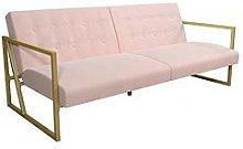 Cosmoliving Lexington Modern Fabric Futon Sofa