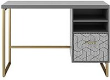 Cosmoliving Scarlett Single Pedestal Desk -