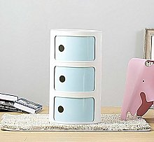 Costello® 2 3 4 5 WHITE DRAWER BEDSIDE SIDE END