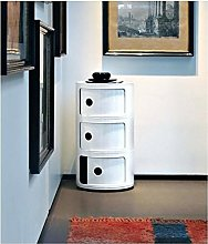 Costello® 3 TIER BATHROOM STORAGE BEDROOM CABINET