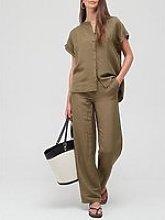 Coster Copenhagen Linen Shirt - Green