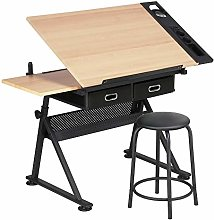 Costoffs Art Desk/Table with Adjustable Height