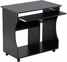 Costoffs Mobile MDF Computer Desk Office Home