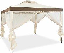 Costway - 10 x 10 FT Canopy Gazebo Outdoor Garden