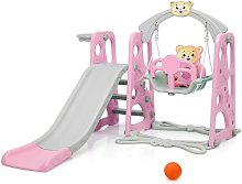 Costway - 4 in 1 Kids Play Toddler Climber and