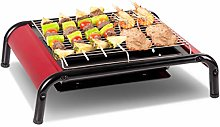 COSTWAY BBQ Grill Portable Tabletop Barbecue Grill