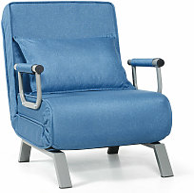 Costway - Convertible Sofa Bed Folding Armchair
