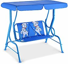 COSTWAY Kids Patio Swing, Garden Hammock Chair