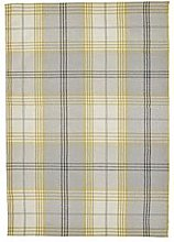 Cosy Check 100% Wool Rug