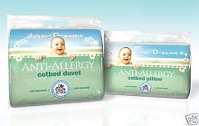Cosy Cubs Anti-Allergy Pillow, Cot/Cot Bed
