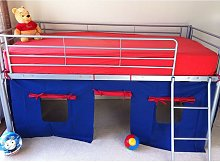 COSY STARS METAL MID SLEEPER CABIN BUNK BED WITH