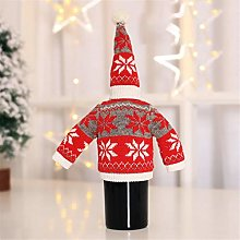 Cosye Bottle Cover With Hat Christmas Wine Bottle
