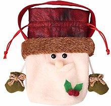 Cosye Christmas Apple Bag Christmas Santa Claus