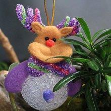 Cosye Christmas Light Ornaments EVA Dolls Old