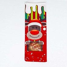 Cosye Christmas Red Wine Bag Christmas Decoration