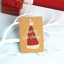 Cosye Christmas Series Vintage Tag DIY Blank Small