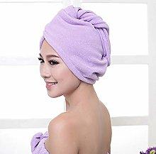 Cosye Superfine Fiber Bath Hair Dry Hat Shower Cap