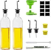 Cosyres 2 Pack Olive Oil/Vinegar Bottle Drizzler