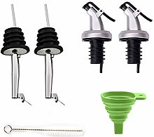 Cosyres Bottle Pourers for Spirits, Olive Oil,