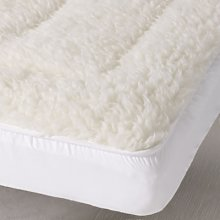 Cot Bed Mattress Topper, No Colour, Cot Bed