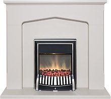 Cotswold Fireplace Suite in Stone Effect with Elan