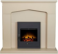 Cotswold Fireplace Suite in Stone Effect with Oslo