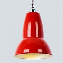 Cotswold Grey - Red Mini Light Signal Pendant - Red