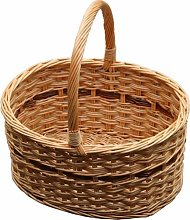 Cotswold Shopping Wicker Basket Brambly Cottage