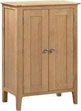Cotswold Wooden Shoe Storage Cabinet In Oak