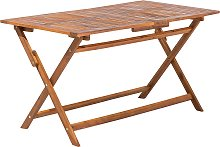 Cottage Rustic Outdoor Garden Patio Table 6 Person