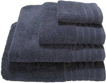 Cotton 3 Piece Towel Set Symple Stuff Colour: Dark
