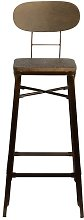 Cotton 76cm Bar Stool Borough Wharf