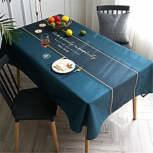Cotton And Linen Coffee Table Tablecloth,