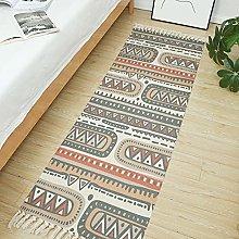 Cotton And Linen Floor Mats Literary Ethnic Style