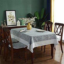 Cotton And Linen Restaurant Tablecloth, Retro